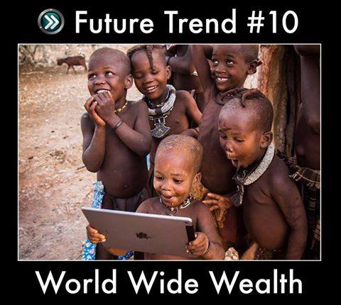 Top 10 Business Trend for 2017 - #10 World Wide Wealth