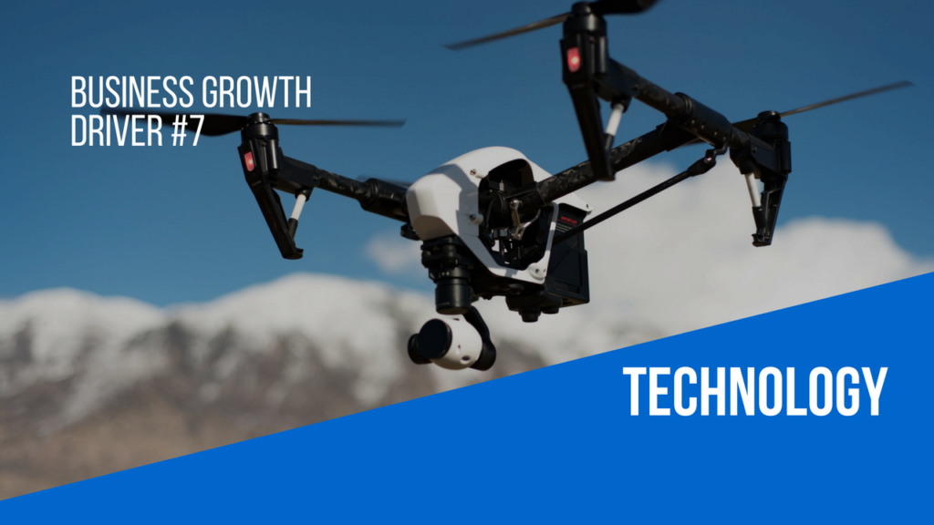 Technology as a business growth driver