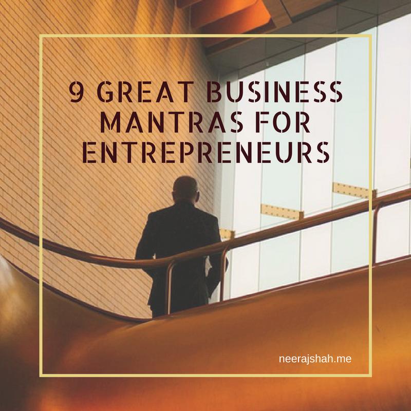 9 Business Mantras