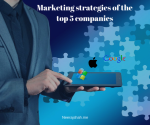 Marketing strategies of the top 5 companies